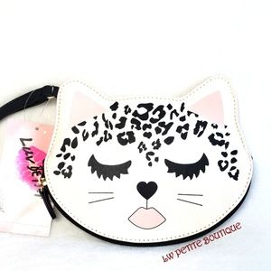 Betsey Johnson Coin Pouch/ Wristlet